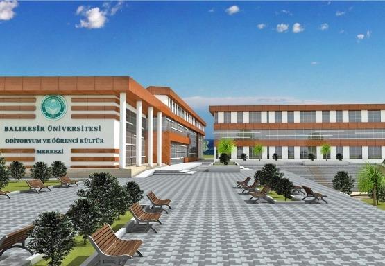 Balıkesir Üniversitesi Kütüphane ve Kongre Merkezi
