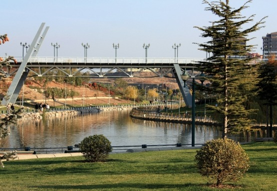 Eryaman Recreational Area Arrangement and Pond Rehabilitation