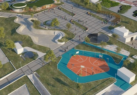 Construction of Square, Sports Areas and Underground Carpark in Gaziosmanpaşa Merkez District