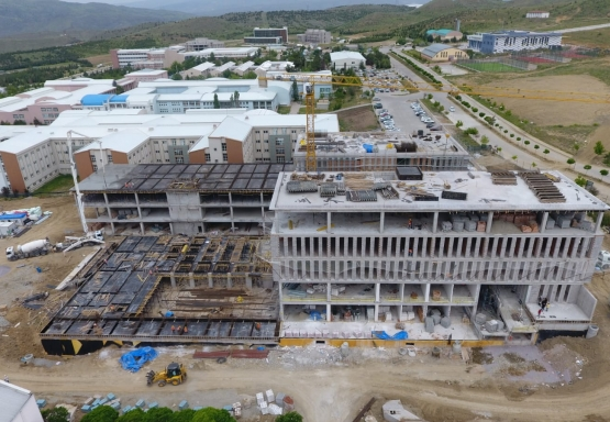 Construction of KU Faculty of Islamic Sciences