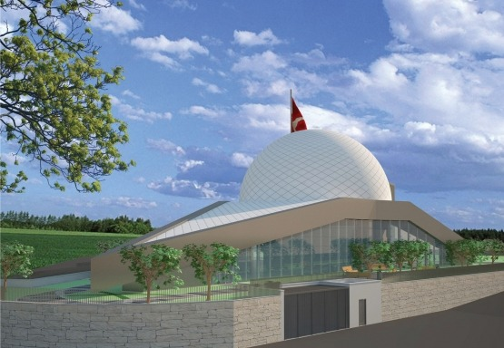 Construction of İzmit Municipality Planetarium Virtual Reality Globe Building