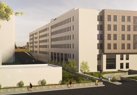 Sultangazi Belediyesi İstanbul Üniversitesi Diş Hekimliği Fakültesi Sağlık Hizmetleri Yüksekokulu İnşaatı